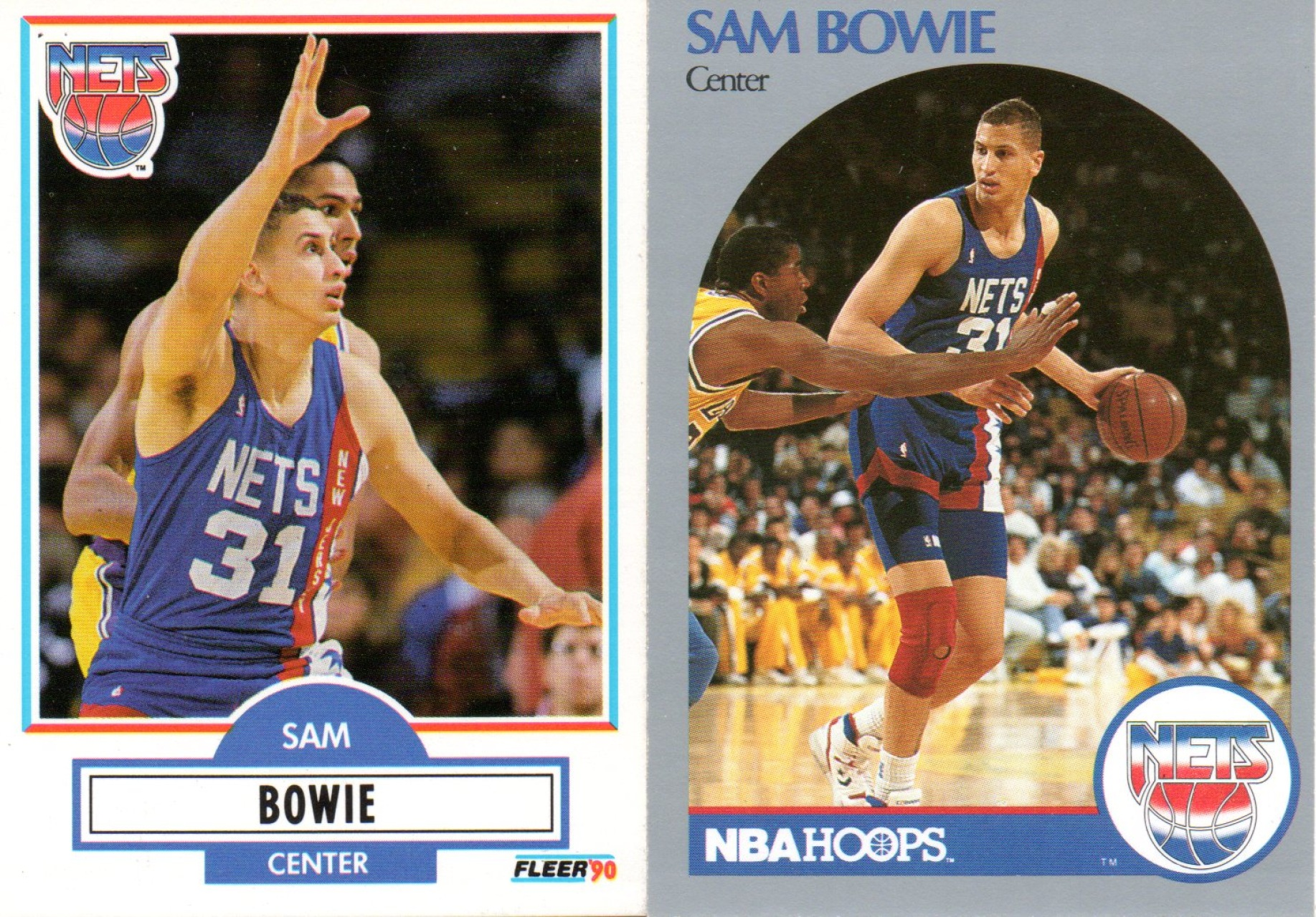Find your favorite 1989 1991 Nets Basketball Trading Cards