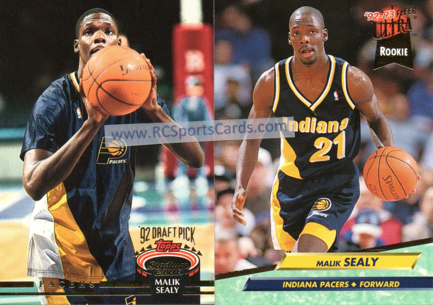 Find Your Favorite 1992 1994 Indiana Pacers Basketball Cards