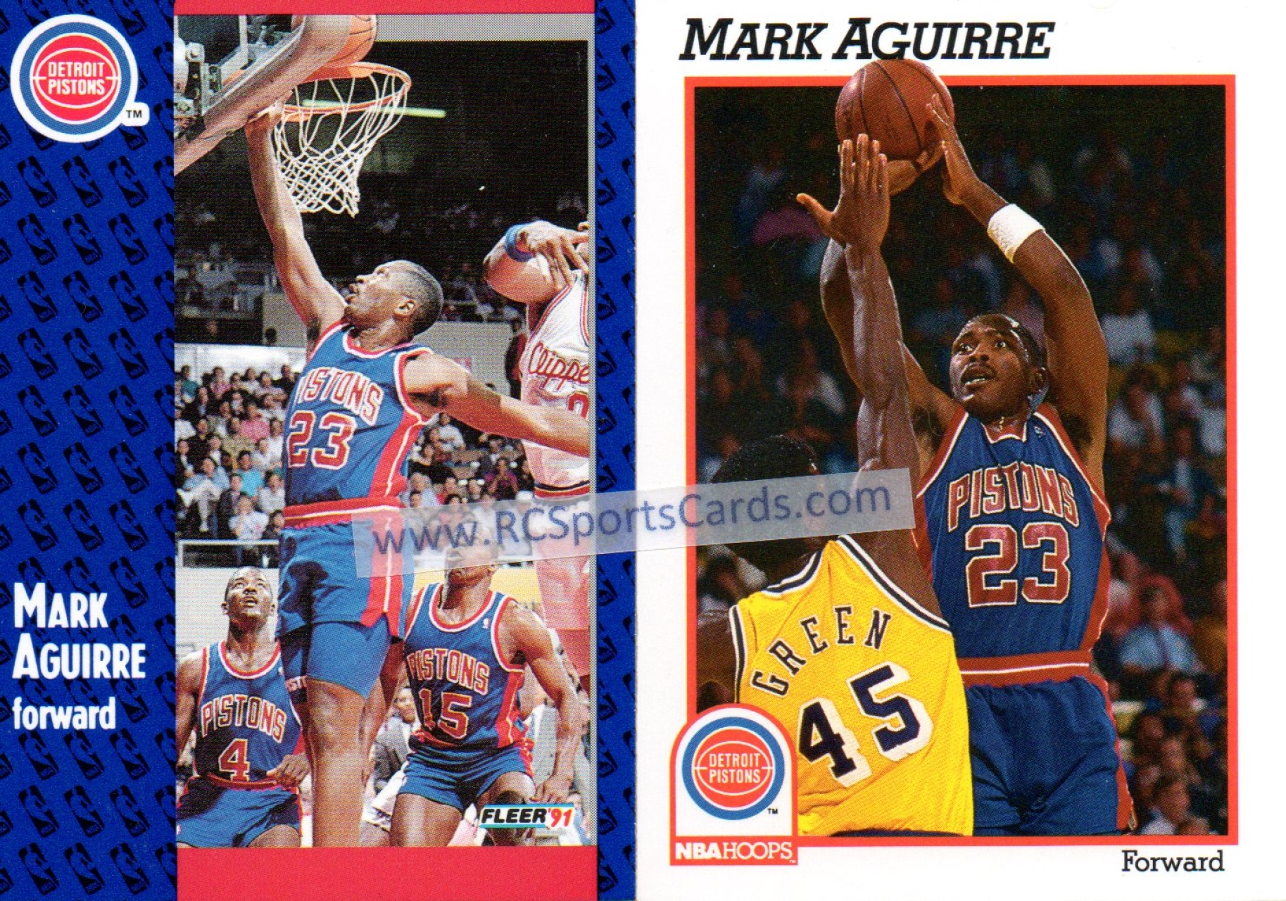 1988 1991 Detroit Pistons Basketball Cards Basketball Cards by