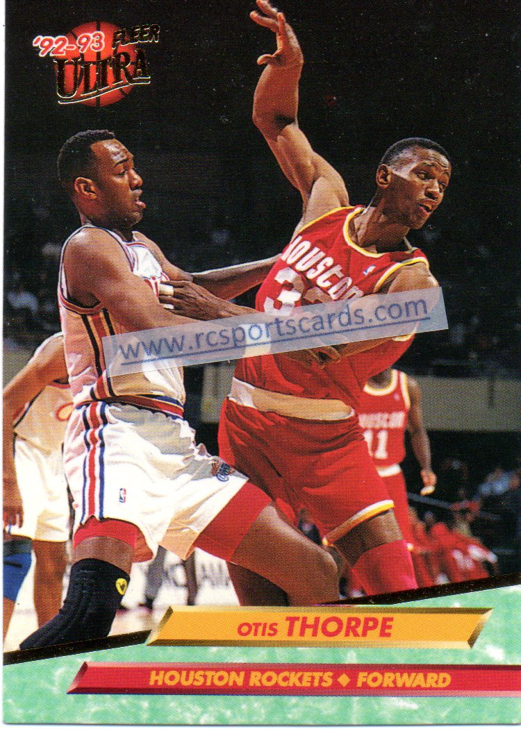 1992 1994 Houston Rockets Basketball Trading Cards Basketball