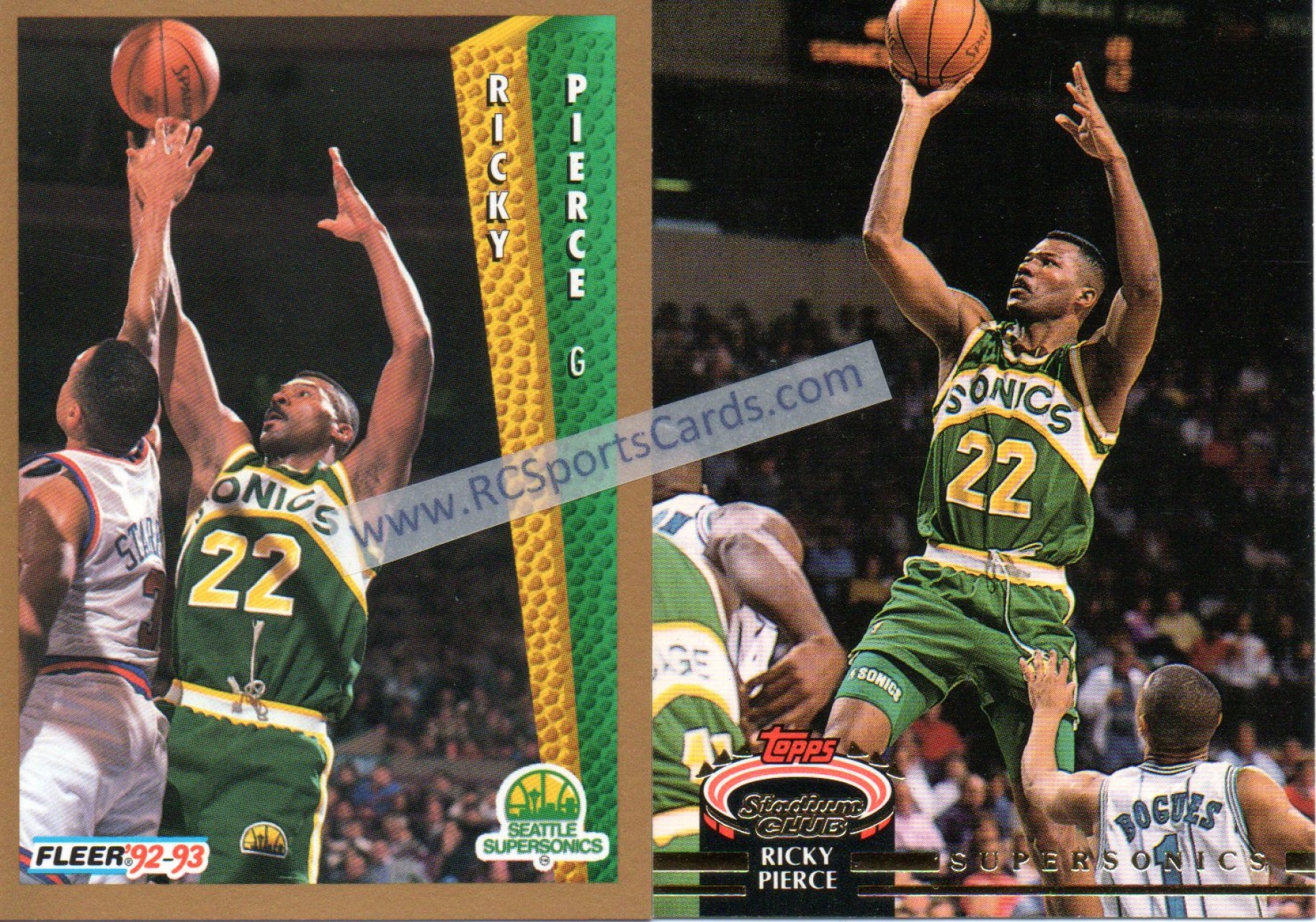 Find Your Favorite 1992 1994 Sonics Basketball Trading Cards