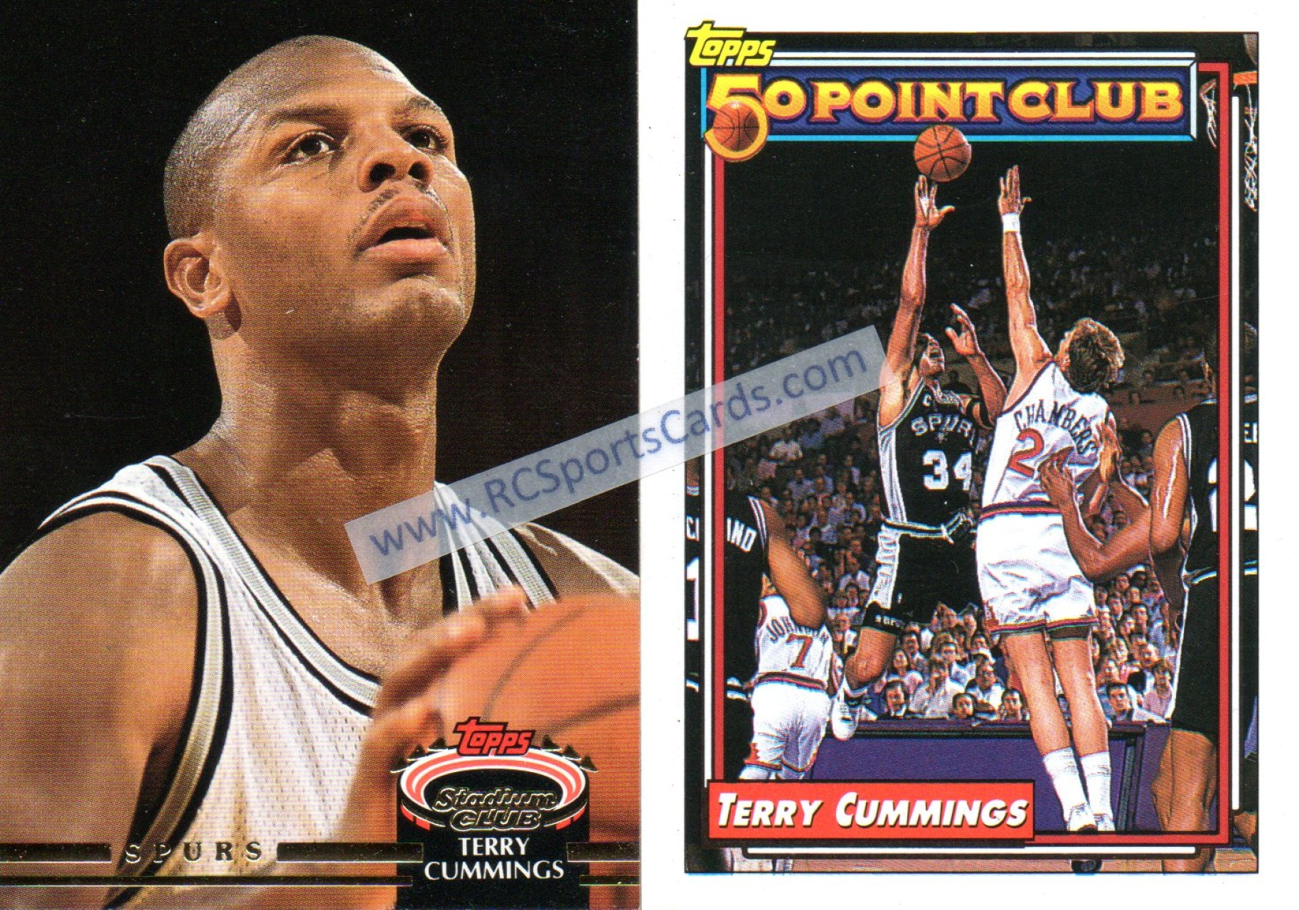 Find Your Favorite 1992 1994 Spurs Basketball Trading Cards