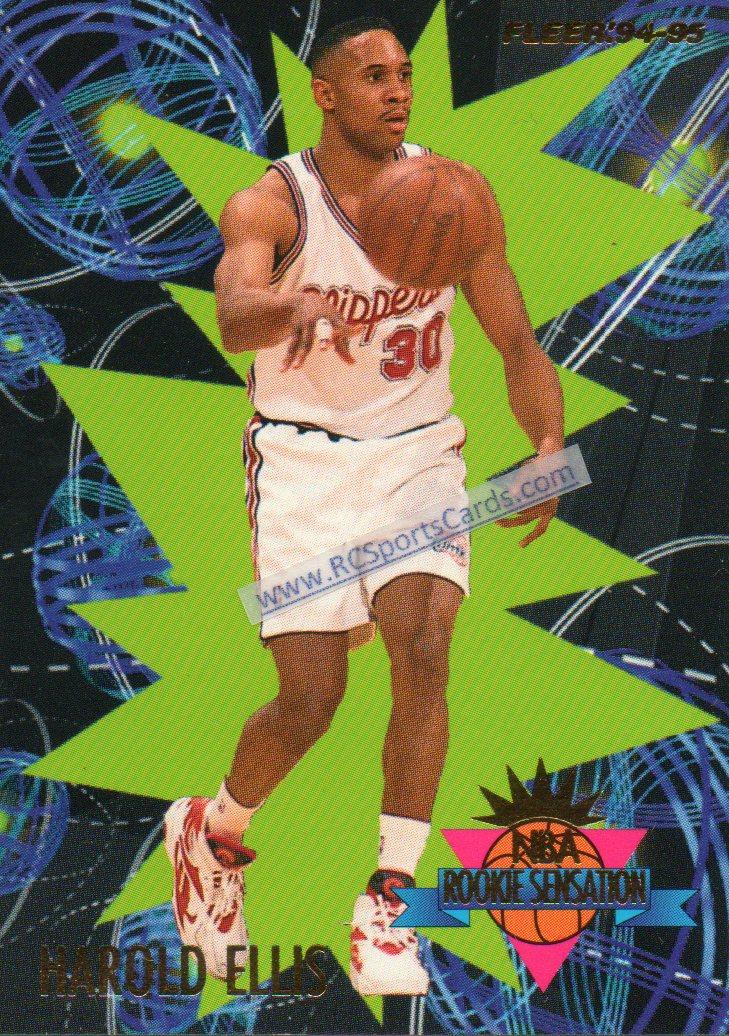 1994 95 Harold Ellis Clippers Rookie Insert Itm N3612