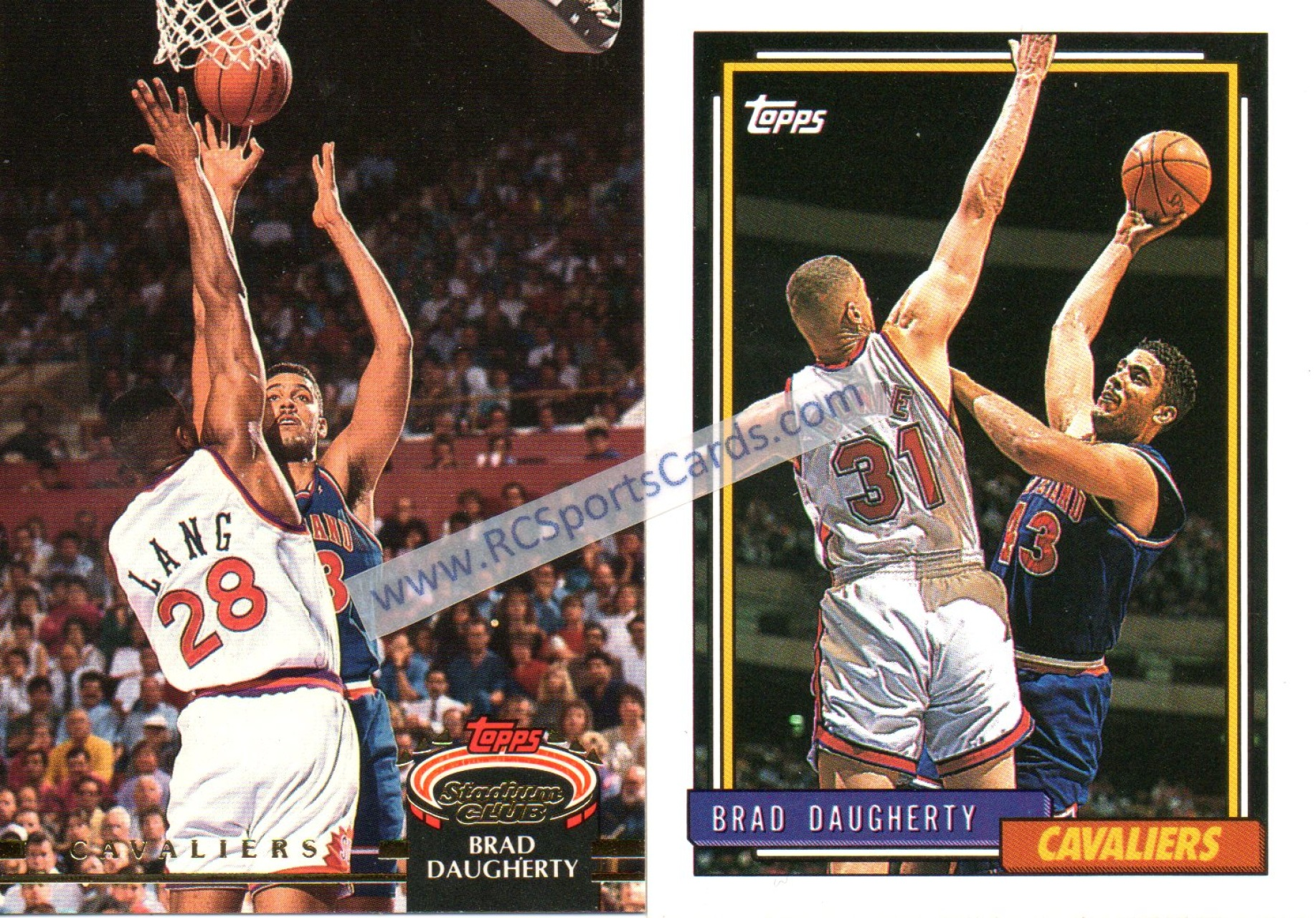 Selling 1992 1994 Cavaliers Basketball Trading Cards